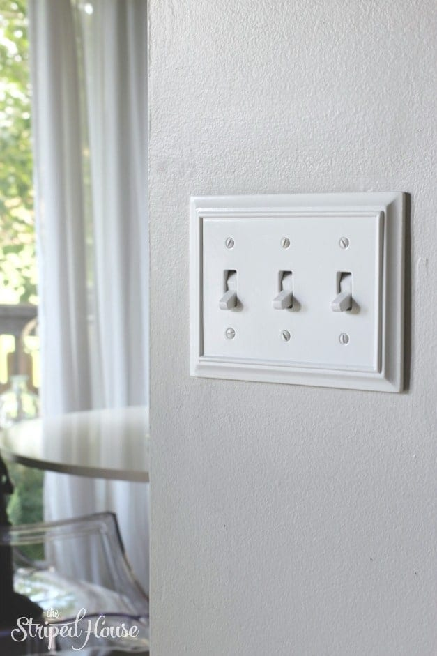 light switch and outlet plates