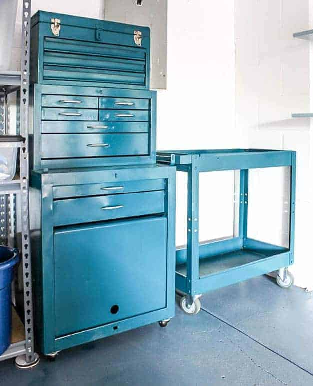 metal-tool-chest-and-cart-makeover-garage-the-striped-house