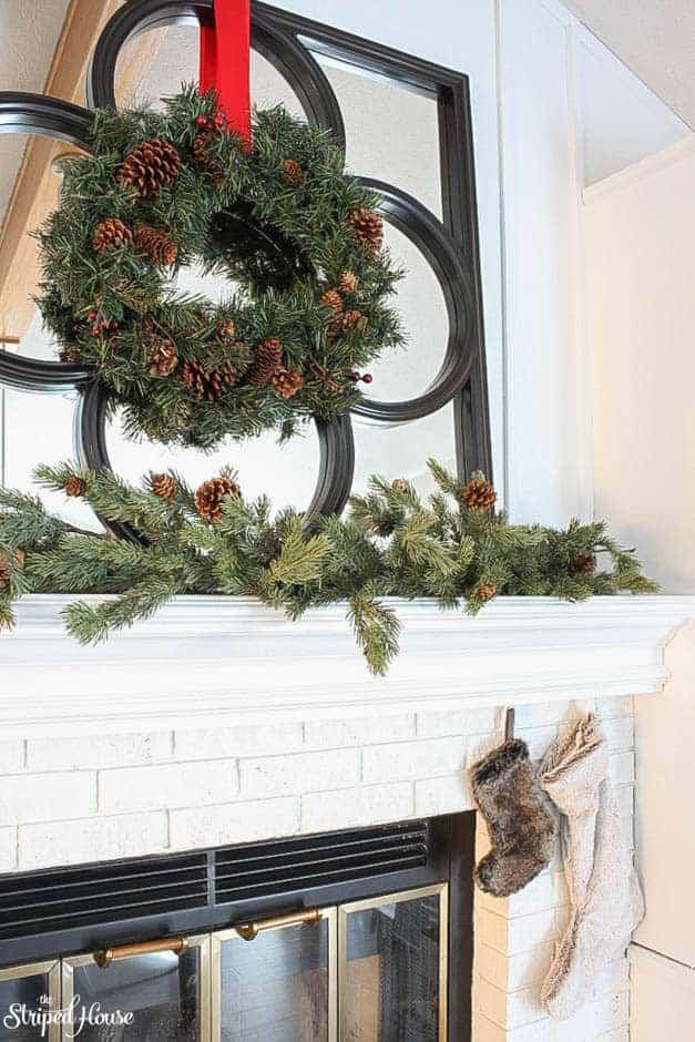 modern-traditional-scandinavian-christmas-home-fireplace-mantle