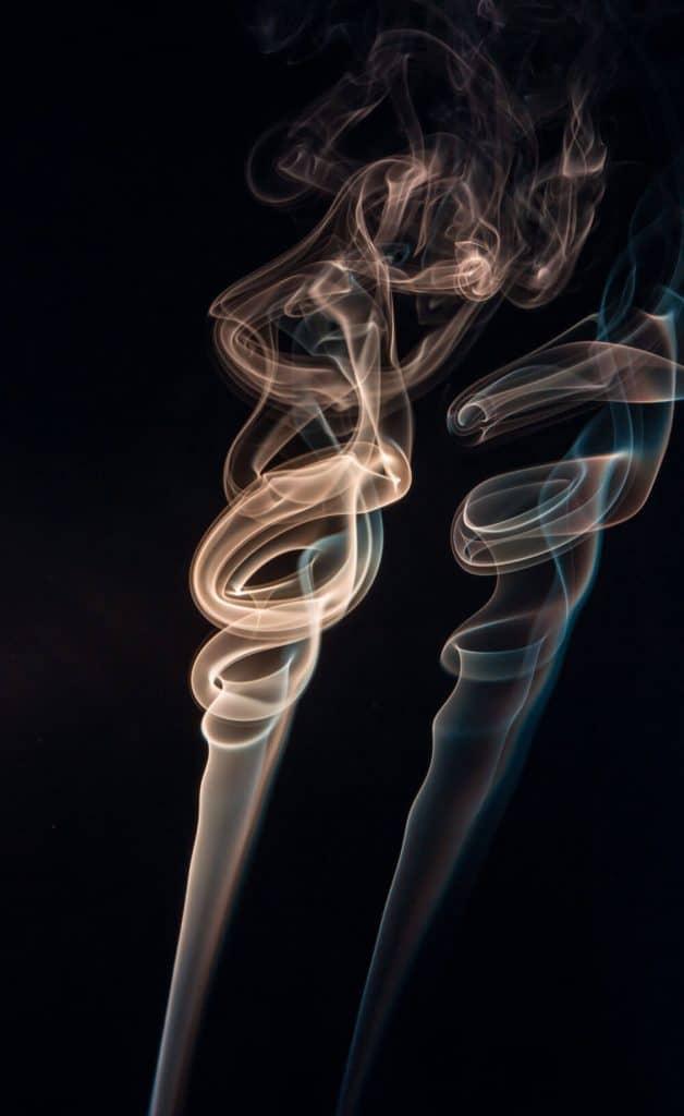 Source of smoke