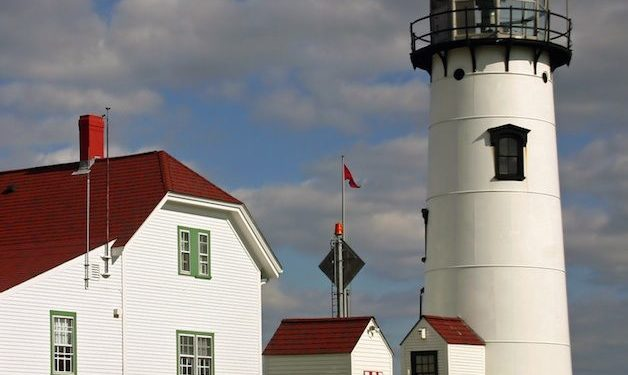 The chatham lighthouse is an iconic symbol of cape cod