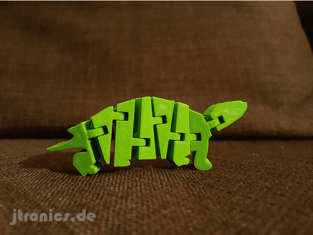 3d printed flexi turtle
