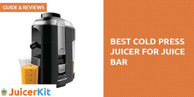 best commercial cold press juicer
