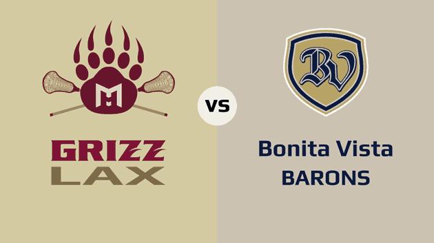 MHHS Grizzlies vs. Bonita Vista Barons