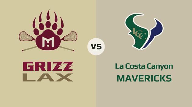 MHHS Grizzlies vs. La Costa Canyon Mavericks