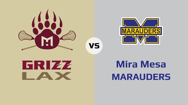 MHHS Grizzlies vs. Mira Mesa Marauders