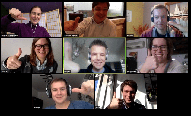 remote team members are better on video!