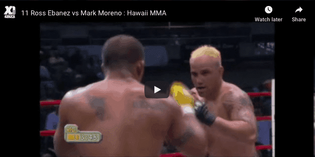 Ross Ebanez vs Mark Moreno