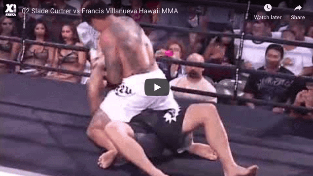 02 Slade Curtrer vs Francis Villanueva Hawaii MMA