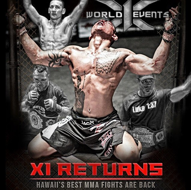 X1 Hawaii's Top Fight Promotion brings its 44 show
