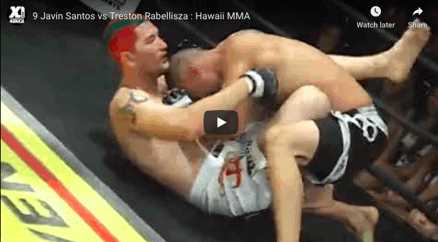 9 Javin Santos vs Treston Rabellisza : Hawaii MMA