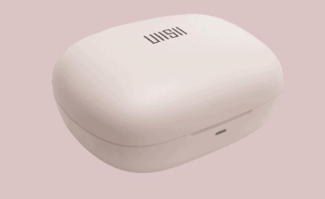 Image shows the UiiSii TWS21 Earphones Charging Box.