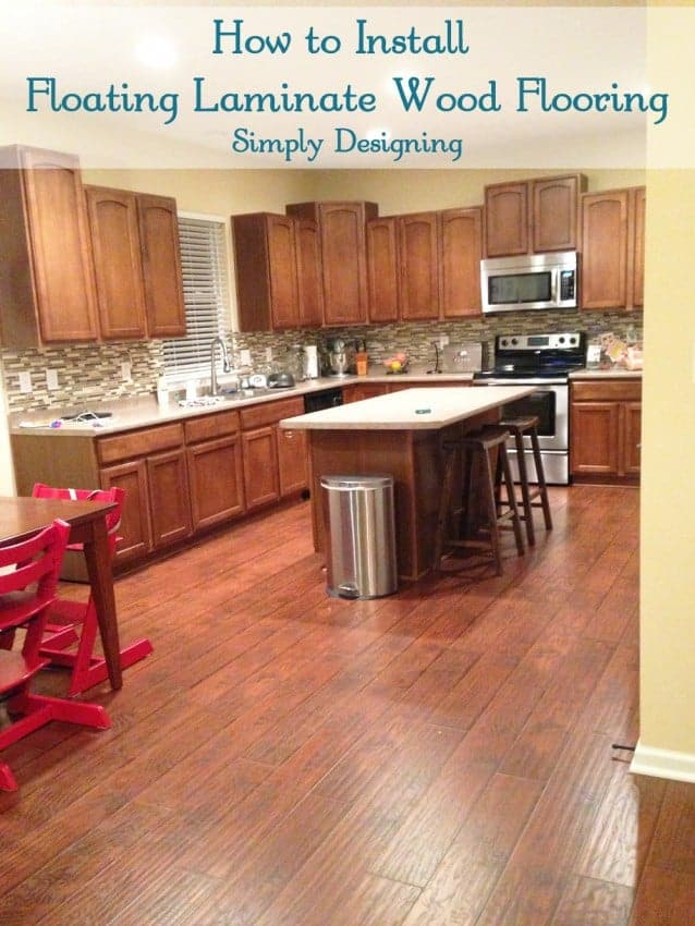 how to install floating laminate wood flooring
