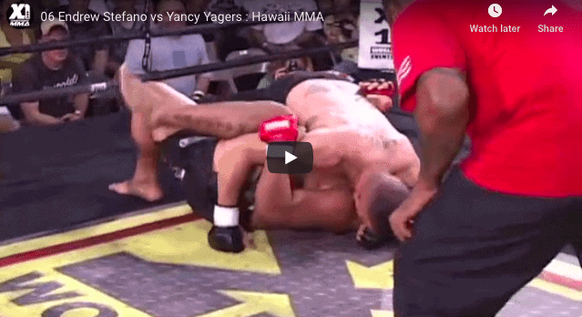06 Endrew Stefano vs Yancy Yagers : Hawaii MMA