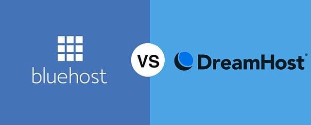 Bluehost vs DreamHost comparison