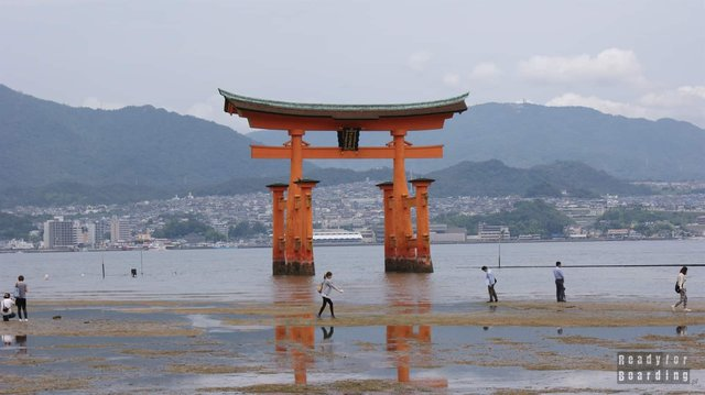 Brama Torii Gate - Itsukushima Shrine