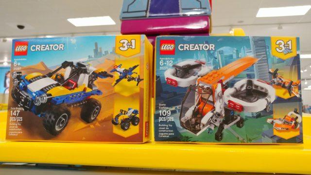 LEGO Creator sets under 10 dollars each