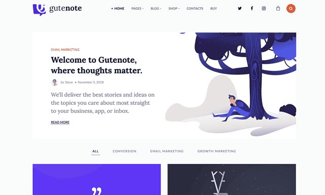 The 29 Best Gutenberg Compatible WordPress Themes (Most Popular 2021)