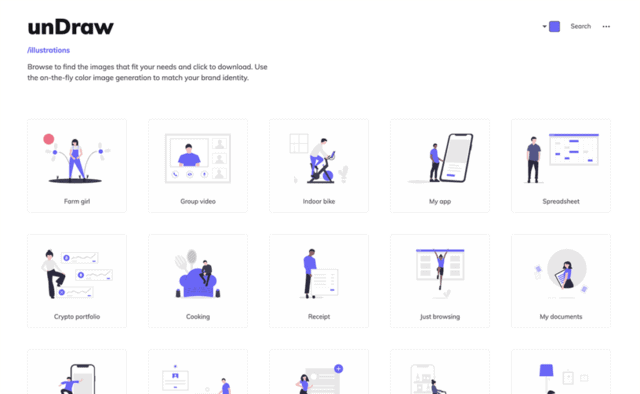 18 Free Illustrations Sites For Your Next Creative Project  (Best 2021)