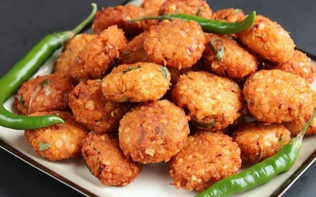Masala Vada: Version 2.0 of  Dal Vada
