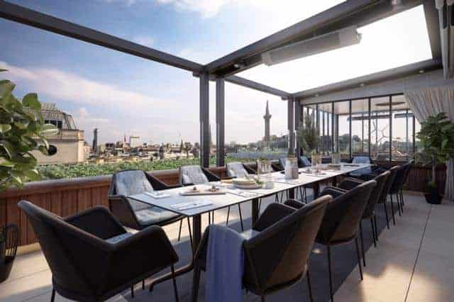 rooftop bars to hire