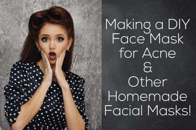 Making a DIY Facial Mask for Acne