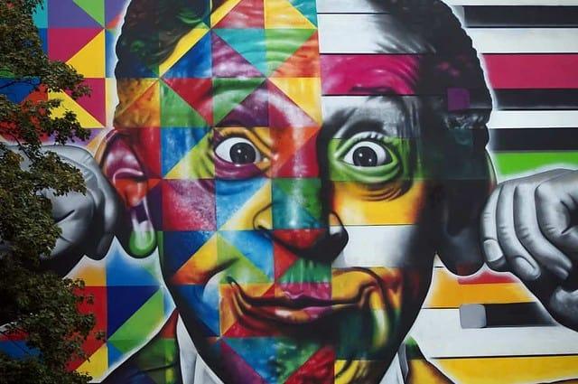 Murale w Łodzi - autor: swiathegemona.pl
