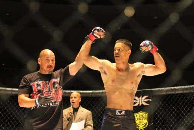 Kyle Kaahanui defeated Daylan Cummings via Arm Triangle choke 1st Round