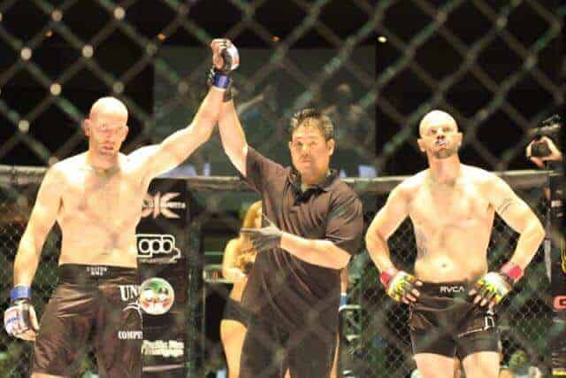 Chris Randoplh defeated Chuck Amerson via 1stRound Guillotine Choke