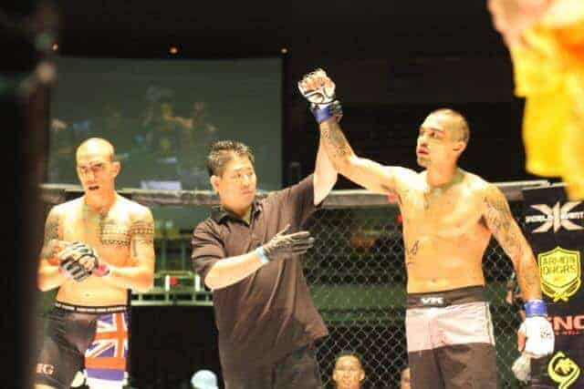 Kaeo Meyers defeated Paul Lopes via 1st Round KO