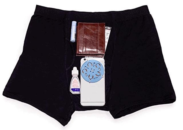 boxer briefs stash pocket