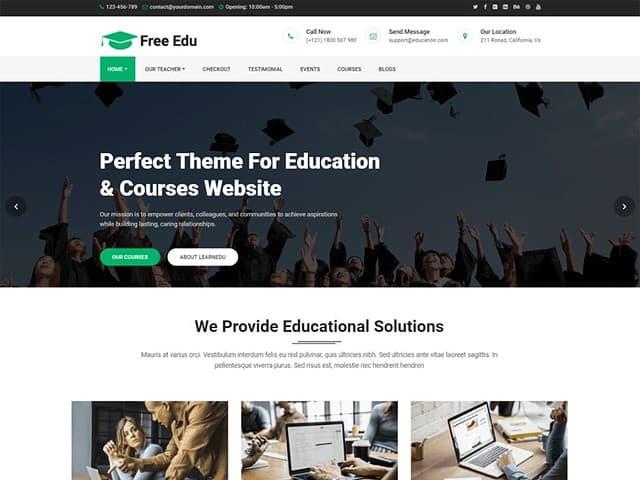 The 30 Best Free Education WordPress Themes (Most Popular 2021)