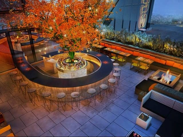 rooftop venues to hire