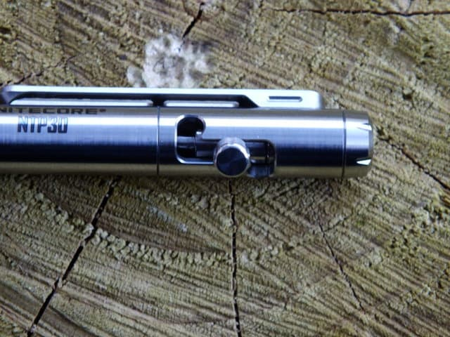 Nitecore NTP30 Titanium Pen