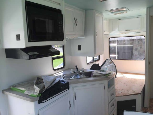 painting rv cabinets and hardware