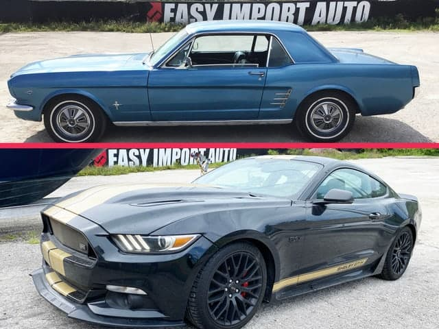 Importer Ford Mustang ancienne moderne