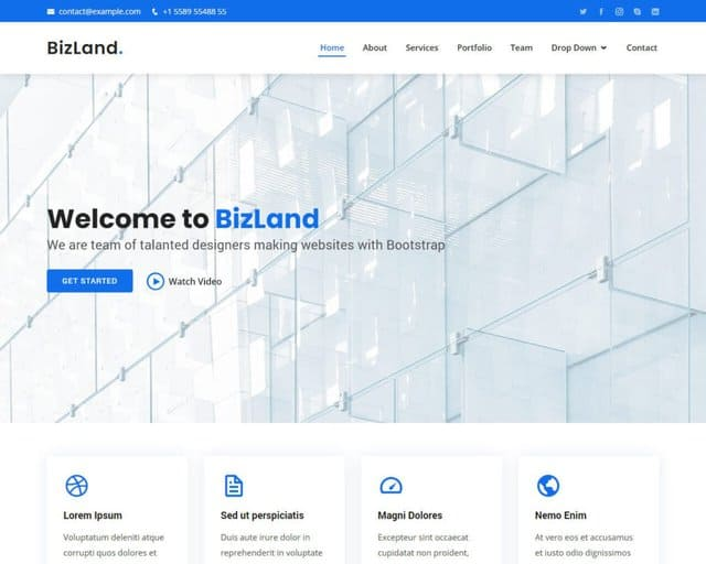 14 Best Free Bootstrap Templates (Most Popular 2021)