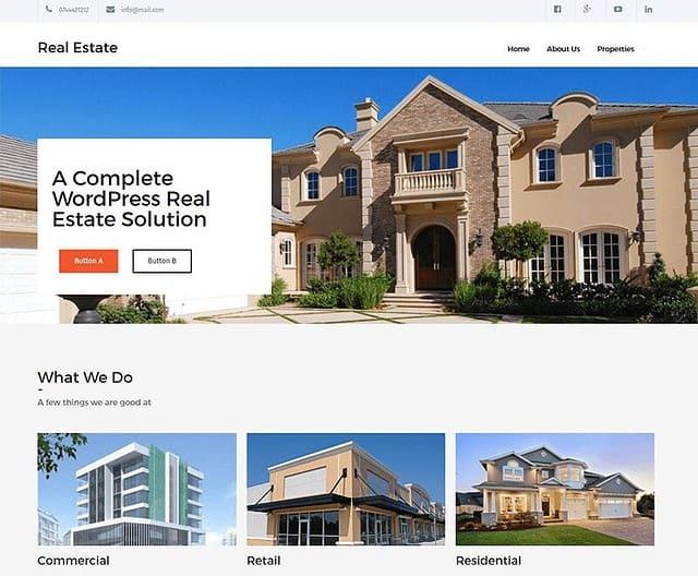 12 Best Free Real Estate WordPress Themes (Most Popular 2021)