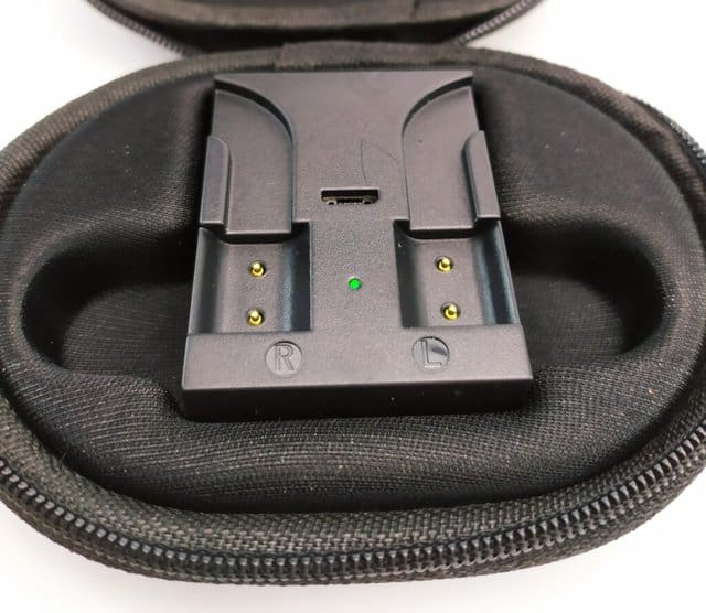 Image shows the charger case.
