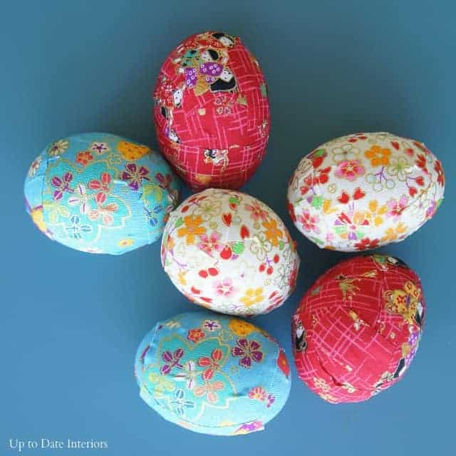 ribbon tape Easter eggs