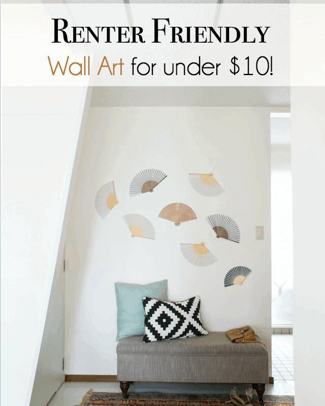 resource-list-foyer- fan-rental friendly decorating tips for walls