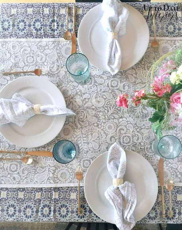 Spring Table Eclectic Chic