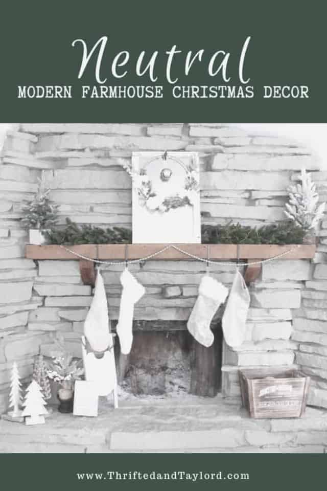 Are you a fellow neutral modern farmhouse Christmas decor lover? Come take a peek at my home to get inspired for your own decorating.