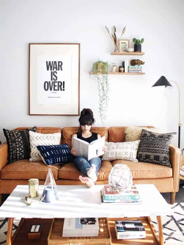 Modern Boho Home Decor : 5 Simple Ways To Achieve The Look!