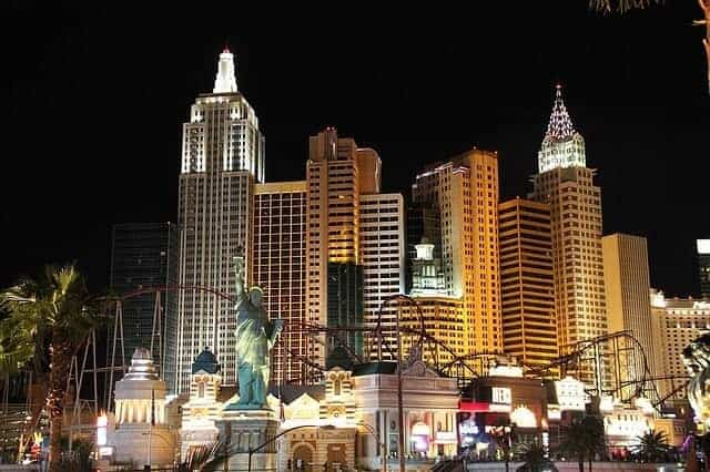 Las Vegas Open Top Bus Tour At Night
