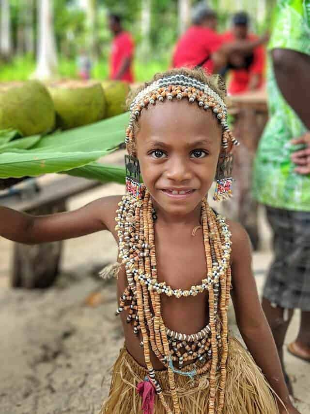Stephanie @ Roderick Village - People of the Solomons