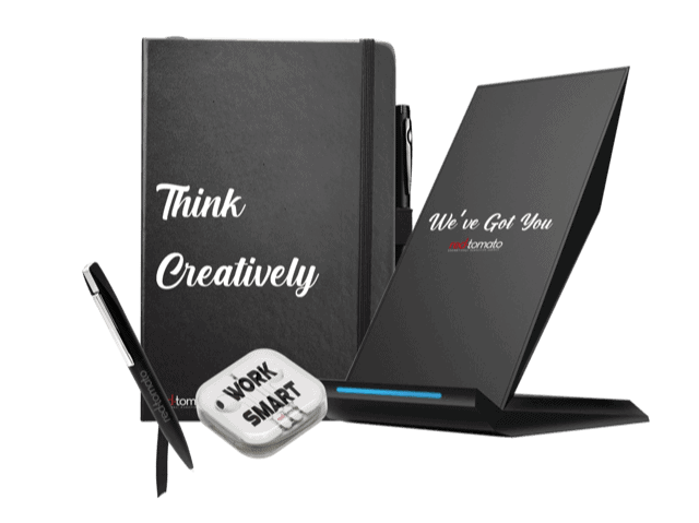 Think creatively employee gift pack