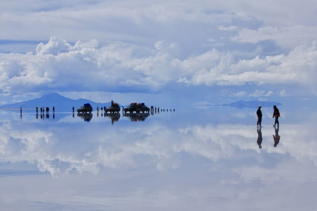 ボリビアのウユニ湖とは