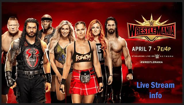 WWE WrestleMania 2019 Live Stream