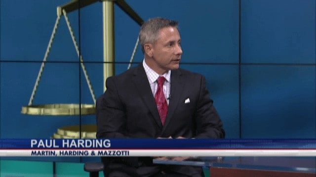 Paul Harding Television Interview - Martin, Harding & Mazzotti 1800law1010